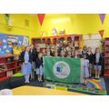 St Teresa's 5th Green Flag award.