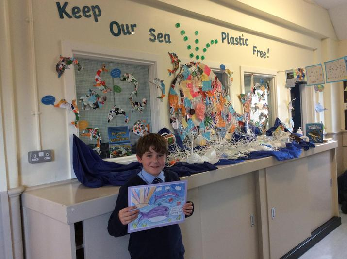 WELL DONE to our Art Competition winner!