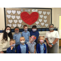Masks donated By Ms Williams Thank you! #smallschoolbigheart