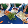 Year 5&6 soup making