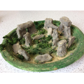 Year 4's clay models of Stonehenge