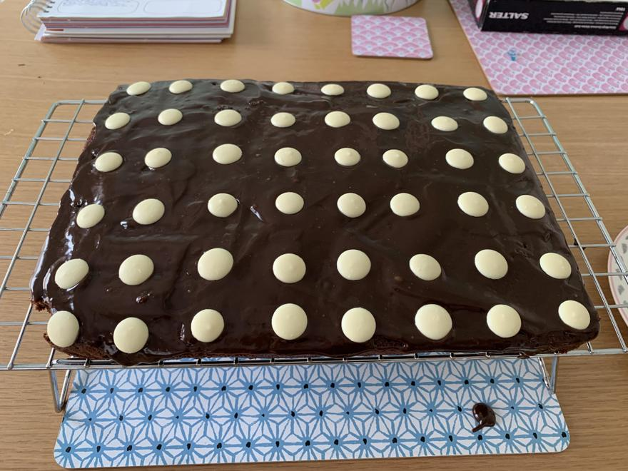 Miss Burt's Lockdown Chocolate Traybake!