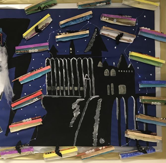 This week we have learnt all about J.K Rowling and her Harry Potter books.