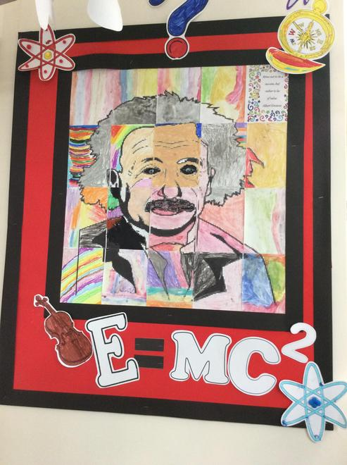 2L have loved learning about Einstein this week