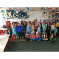 We are all dressed up for World Book Day!