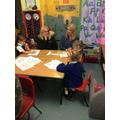 Visits,workshops,role play,Gidgit,parents &friends