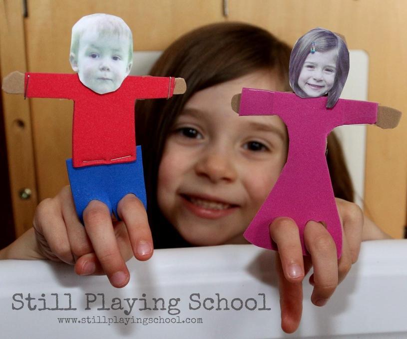 Finger puppet!