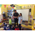 Reception Class Meeting Mr Hemmings, Policeman