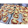 Heart Pizzas too!