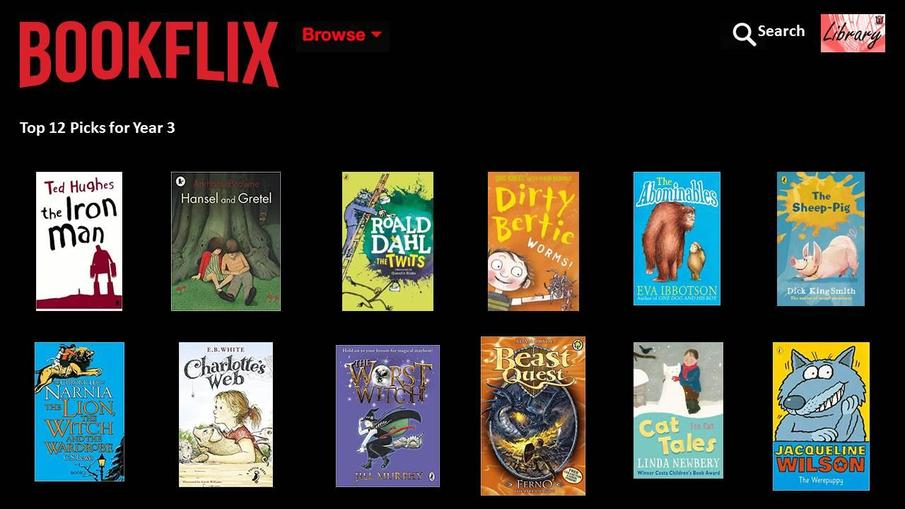 Fancy reading something different? Why not try one of our recommended books for Year 3?