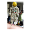 Aamilah created a 3D image of Neil Armstrong