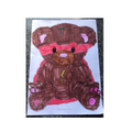 Hamza created a great Superhero Teddy.