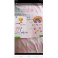 Hafsa's card
