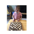 Aela's learnt how to play chess!