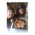 Aamilah has been baking cookies.