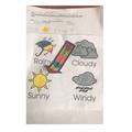 Fatima's weather chart.