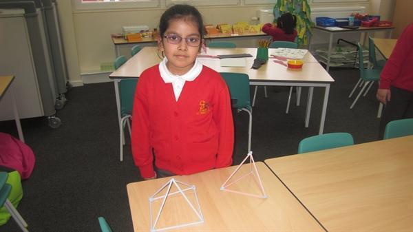Halima made 3D models for her Learning Log