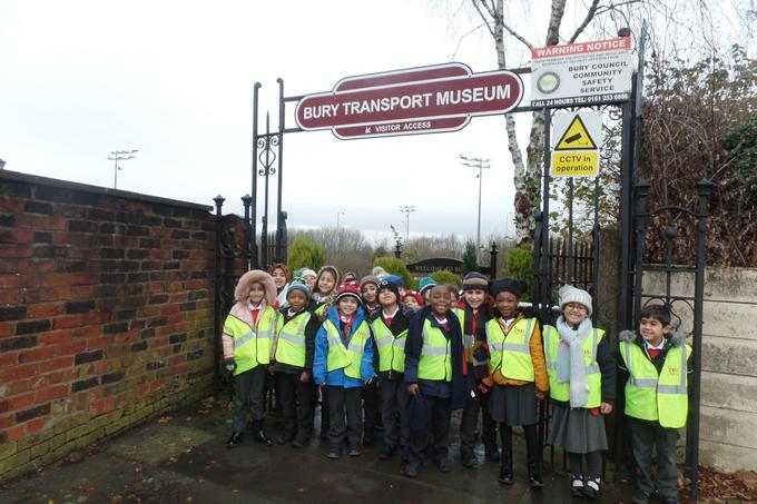 Y1 had an exciting day at the Transport Museum.