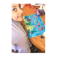 Fatima created an underwater collage.
