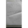 Ummar's letter
