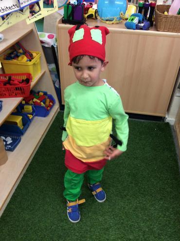 Shehroz won the best costume.