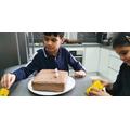 Rayan's Easter cake