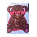 Hamza's fab Superhero bear!