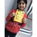 Sharfa's card