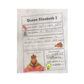 Fatima's work about Queen Elizabeth