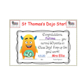 Well done! You have achieved 50 Dojo points!
