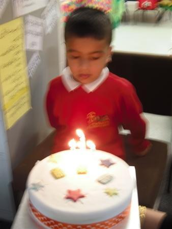 Happy 4th Birthday Zain!
