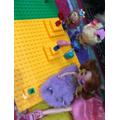 Minahal's Lego tea party
