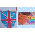 Zarak's coat of arms and origami cat