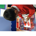 Making poppies using our own printed designs