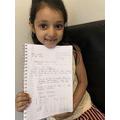 Amara's letter