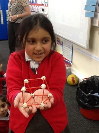 We made some 3D shape models