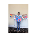 Saif-Ali's fantastic completed bunting.