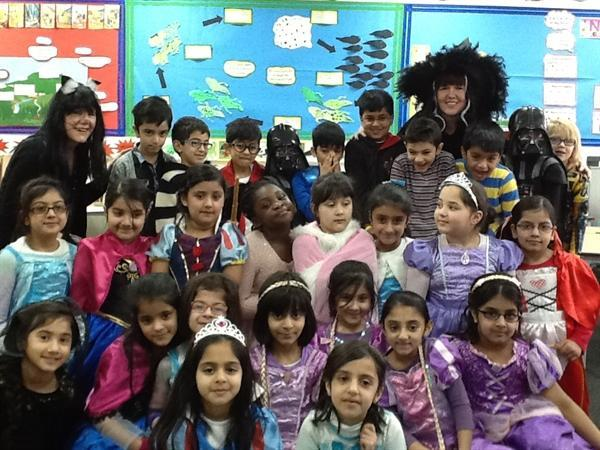 We dressed up for World Book Day!