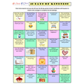 Our '40 Days of Kindness' chart