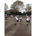Games lessons with Mrs Turner from Deyes High