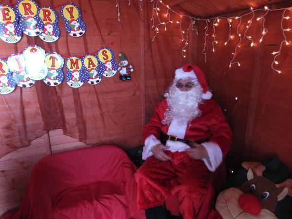 Christmas Fayre 2012 - Santa