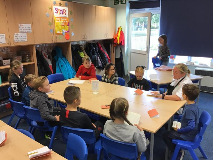 Evaluating our new school dinners with Mrs Traynor