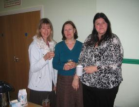 PTA Members who organised the refreshments.