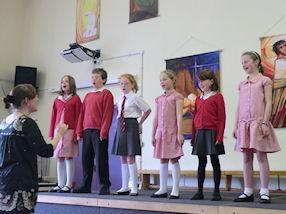 'Allunde' by the After School Singing Group.