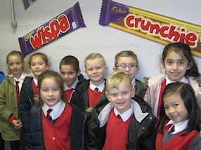 Learning more about Cadbury brands.