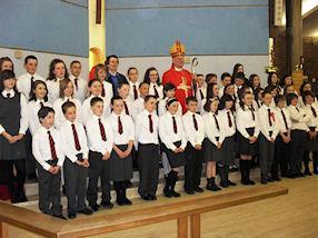 Confirmation group photograph.