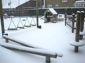 Our very own Winter Wonderland.