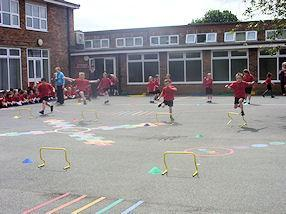 Our Olympic hurdles 2012.