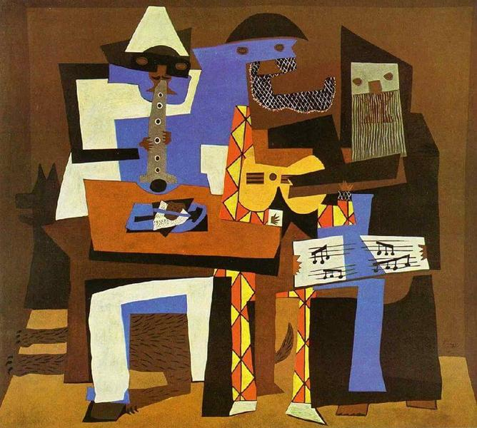Created by Pablo Picasso in 1921.