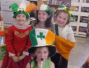 St Patrick's Day Young Performers